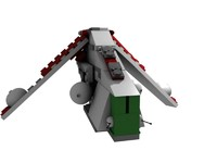 LEGO Star Wars Clone Gunship